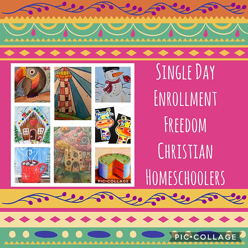 Private group 1 day Freedom Christian Homeschoolers