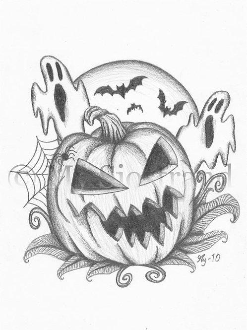 Halloween Drawing