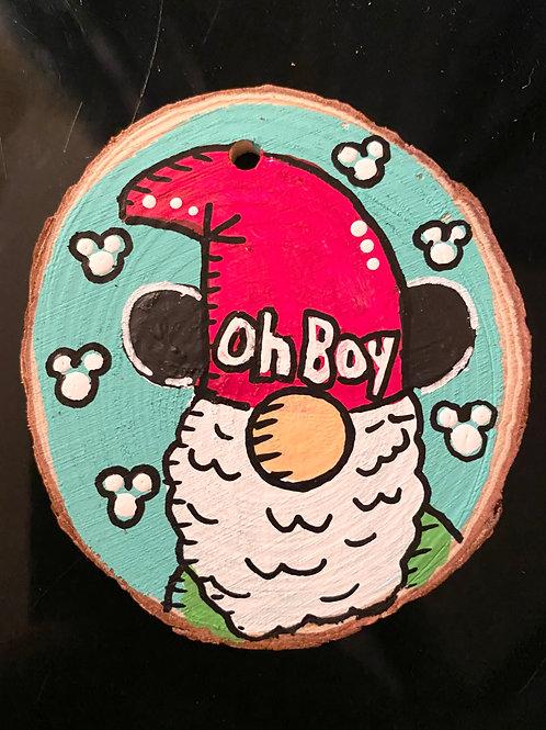 Mickey Gnome Ornament