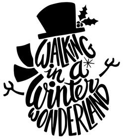 walking in a winter