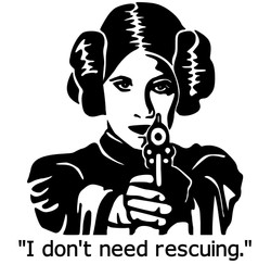 I dont need rescuing