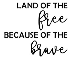 Land of the Free 8x10