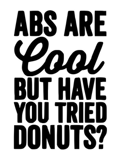 Abs are cool...but