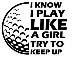 i KNOW golf