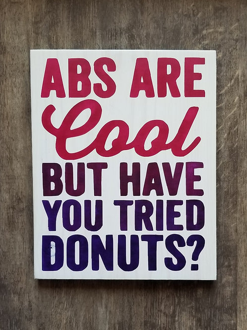 Abs are cool, but...