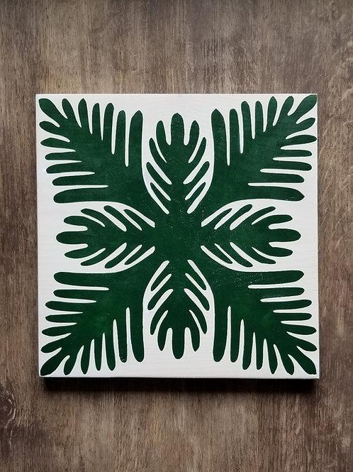 Hawaiian Quilt-Green