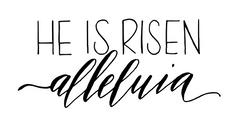 He is Risen Alleluia