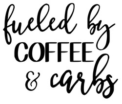 Fueled by coffee and carbs