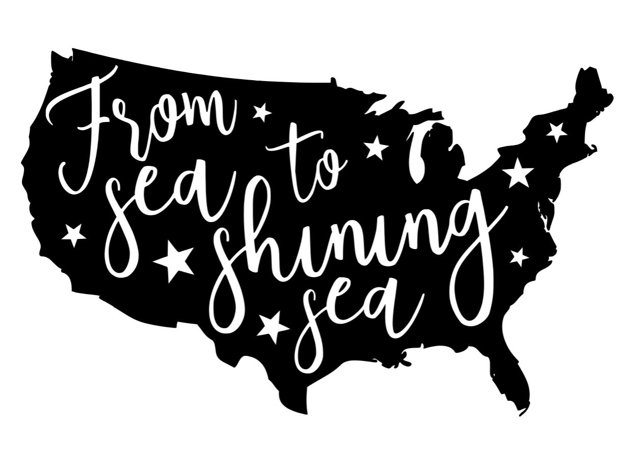 From Sea to Shining Sea-USA