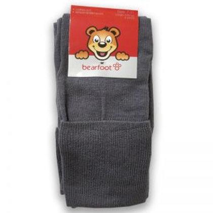 Bearfoot -Grey quarter crew socks 3pk