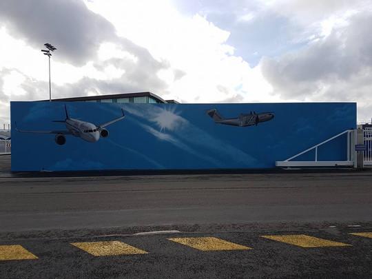 Airbus Fresque