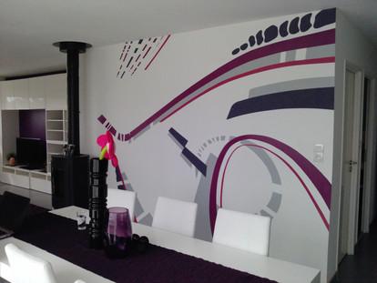Décoration design salon