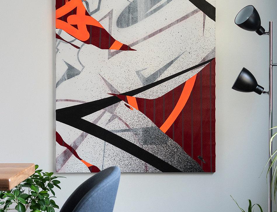 Toile de l'artiste Sabio - Textures
