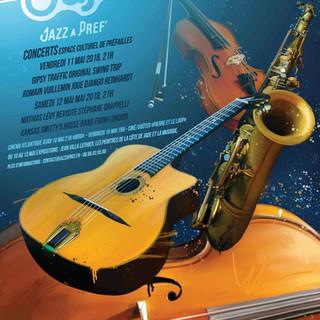 Affiche Concert Jazz - Réalisé par Sabio