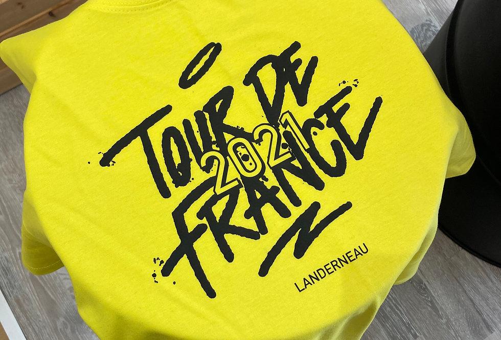 "Tee shirt "" Tours de France 2021"""