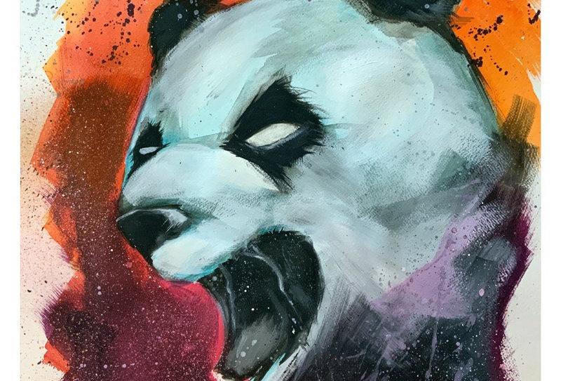 TRAK - RAGING PANDA