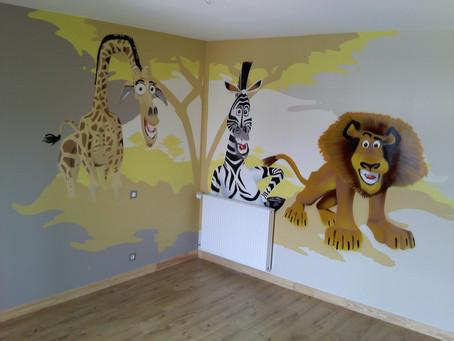 Décoration chambre Madagascar