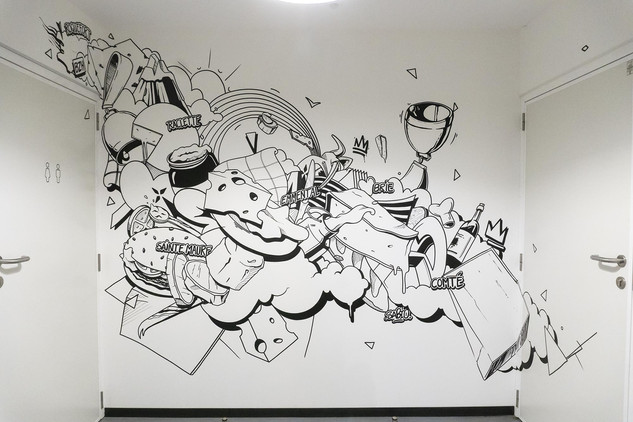 Déco murale - Fromagerie du bout du mond