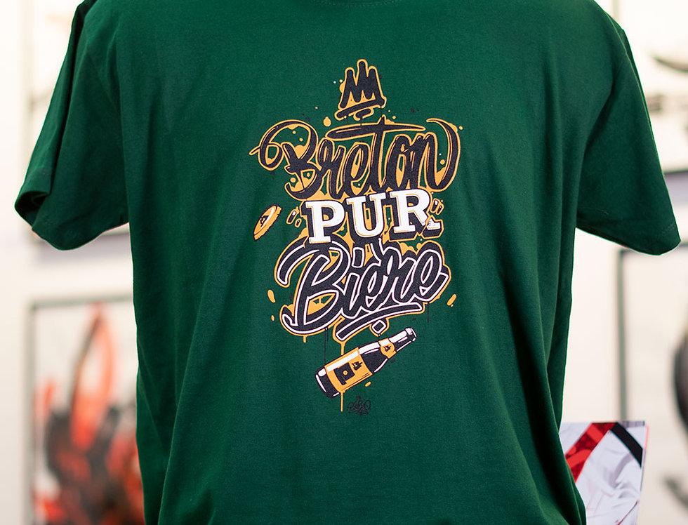 "T-shirt ""Breton Pur Bière"""