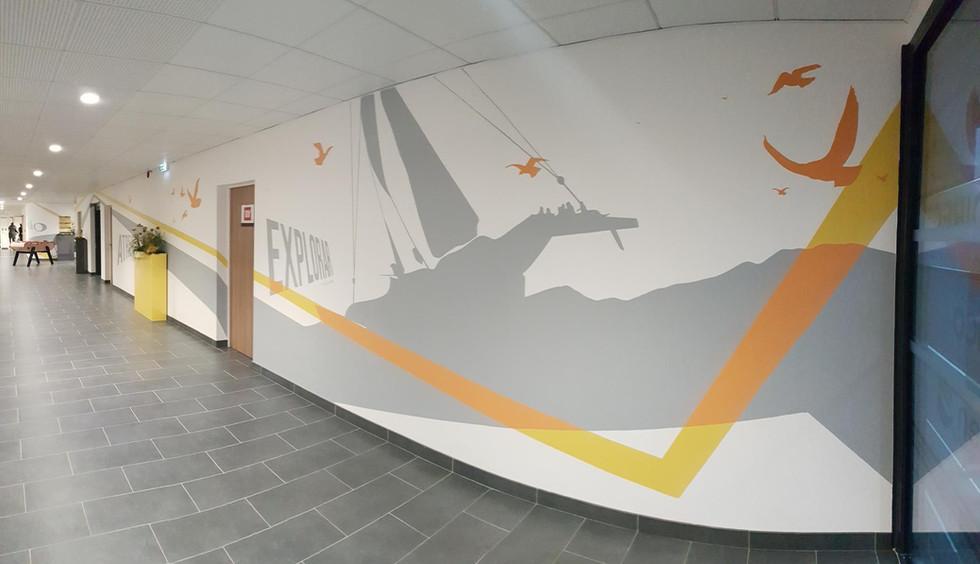 Décoration hall