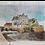 Thumbnail: Oeuvre originale de l'artiste Cart1 - Pont Habité