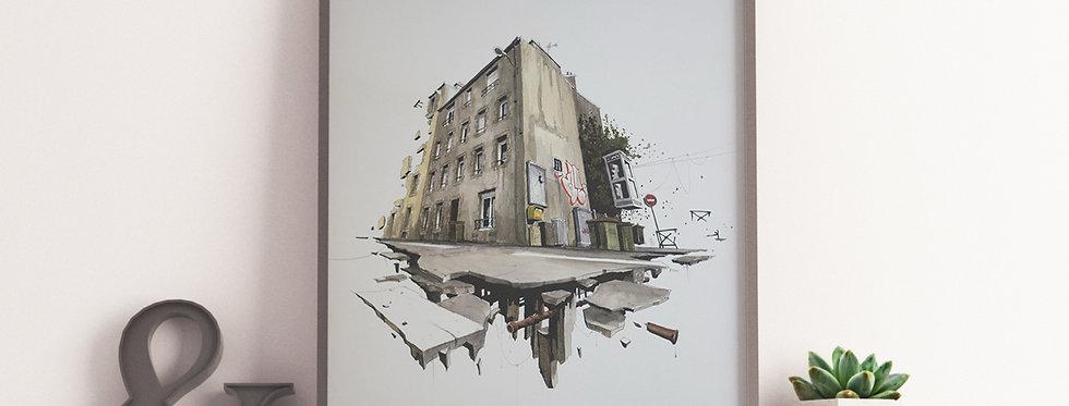 Print de Wen2 - Rue Magenta