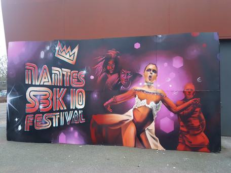 Déco réalisée pour le festival de salsa