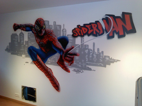 Décoration Chambre Spider Man
