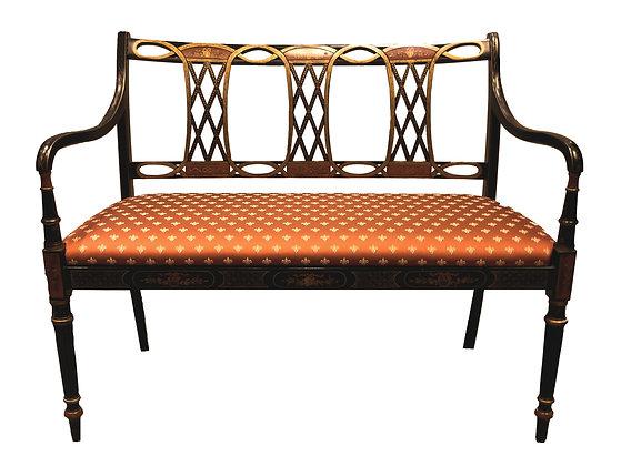 'Orient' Black Bench
