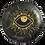 'Al-'Ayn' Black Decor Plates