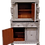 'Kim' Gray Oak Cabinet