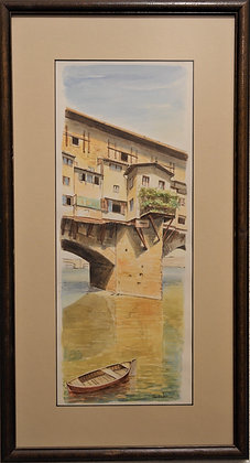 'Bridge View' Painting