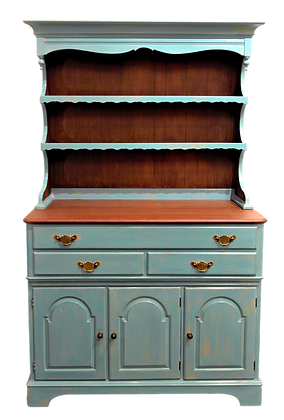 'Julia' Kitchen Cabinet with Hutch