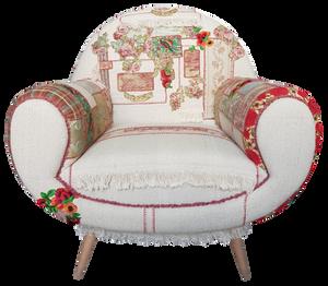 Vintage designer armchair