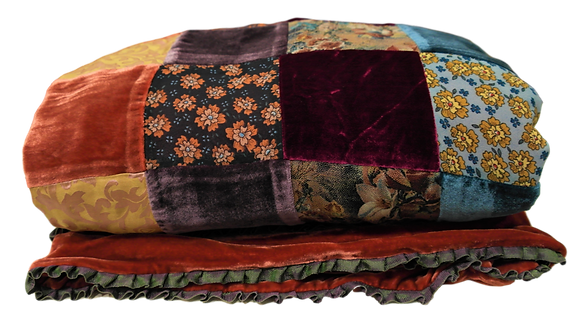 Luxurious Patchwork Blanket