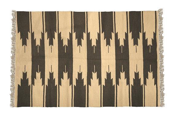 'Backgammon' Handmade Wool Rug