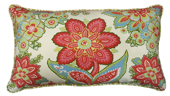 'Jersey's Flowers' Cushion