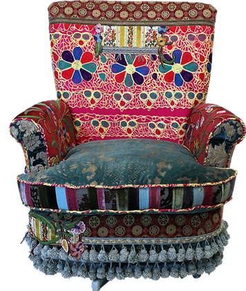 'Fatima' Swivel Armchair