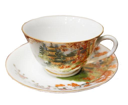 'Japan' Vintage Teacup and Saucer