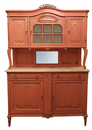 'Emilia' Mahogany Buffet Server, 19th century