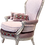 Thumbnail: 'Samira' Armchair and Foot rest