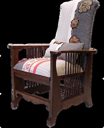 'Huda' Oak Armchair