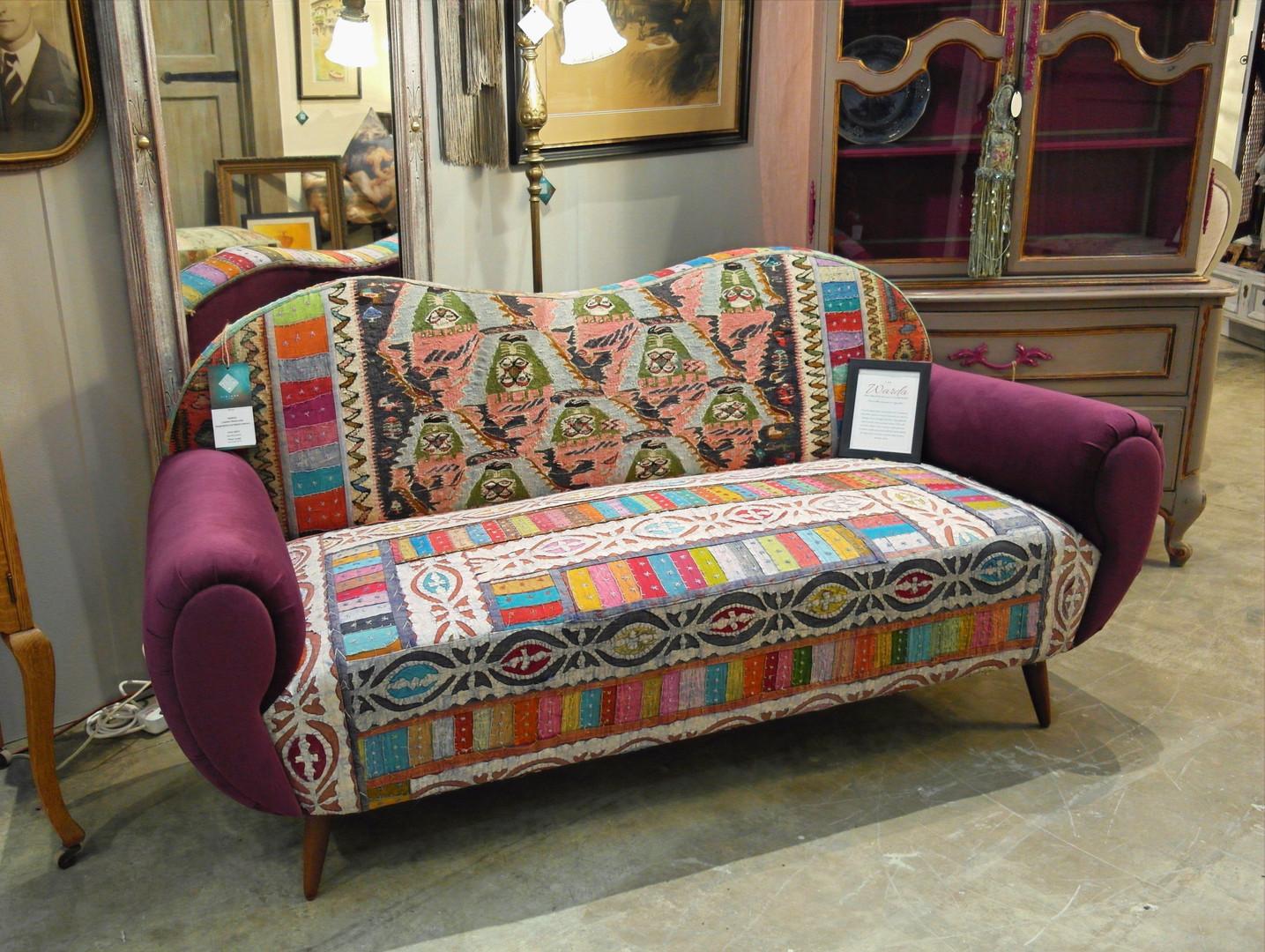 Vintage Patchwork Sofa