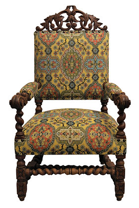 'Fred' Antique Walnut Armchair