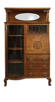 'Janice' Victorian Side-By-Side Cabinet