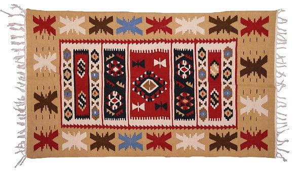 'Dragonfly' Handmade Wool Rug
