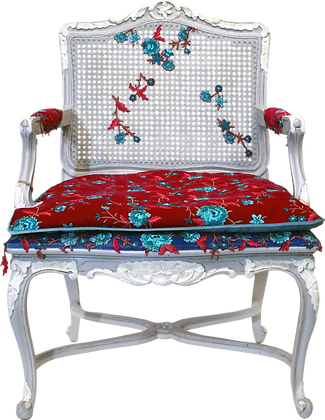 'Hayat and Amal' Cane back chairs