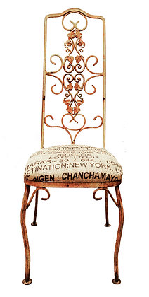 Cast-Iron Coffee-bean bag Chairs