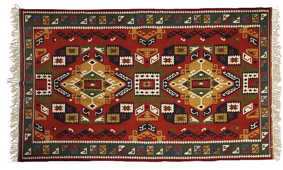 'Ojos' Handmade Wool Rug