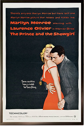 'The Prince and the Showgirl' Original Movie Poster 1957